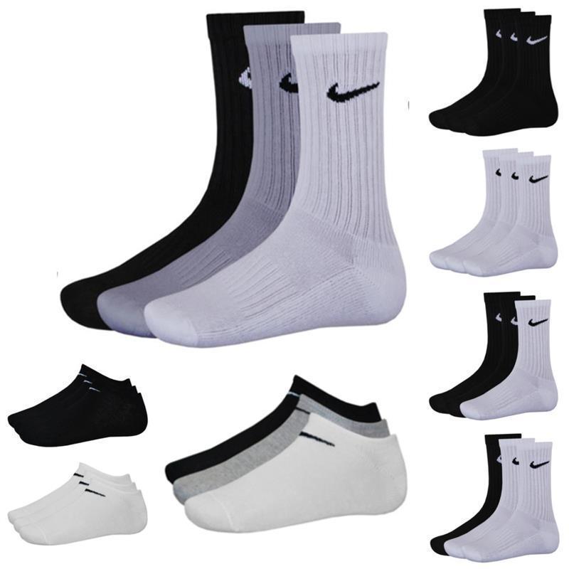 eBay Nike 9er Pack Sportsocken oder Sneaker Socken Schwarz, Weiß, Mix versch. Größen