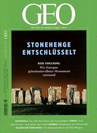 GEO Magazin 6 Monate für 13,47€ erhalten durch PaybackPunkte + Gutschein