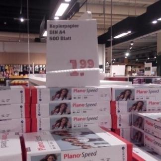 [Darmstadt] 500 Blatt DIN A4 Kopierpapier für 1,99€ im REWE Center Darmstadt