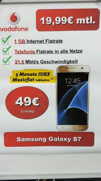 [Lokal SATURN Neu Isenburg] Samsung S7 für 24x mtl. 19.99€ zzgl. 39.99€ Anschlußpreis und 49€ Zuzahlung.