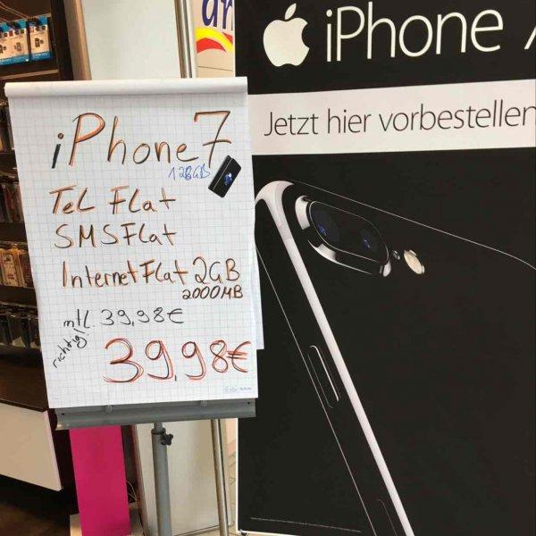 iPhone 7 128GB mit otelo Vertrag lokal ibuy Shops