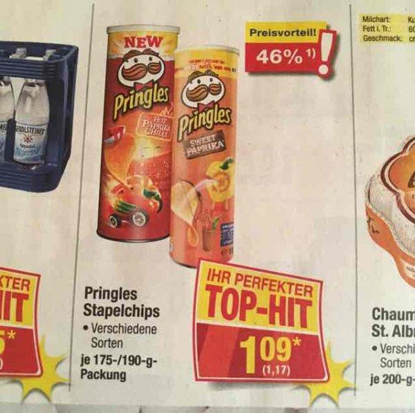 (Metro/Leute mit Gewerbe) Pringles verschiedene Sorten 1,17€
