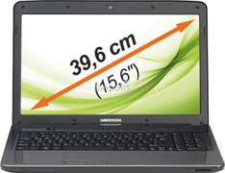 Medion Akoya E6234 (15,6 HD matt, i3-3120M, 4GB RAM, 500GB HDD, DVD-Brenner, Gb LAN, Win 8) für 189€ [B-Ware] [Medion]