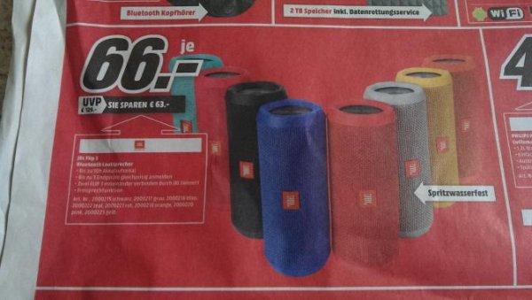 """""""JBL Flip 3 Bluetooth Box"""" Media Markt Plauen"""