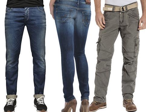 20% extra Rabatt auf alle Artikel von Jack & Jones, LTB und Timezone  bei Jeans Direct