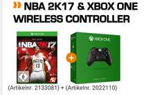 NBA 2K17 inklusive Wireless Controller für Xbox One und PlayStation 4