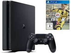 [Media Markt] SONY PlayStation 4 Slim Konsole 1TB Schwarz + FIFA 17 (bis 29.09.)