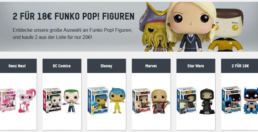 [ONLINE] ZAVVI Funko Pop - 2 für 18 € inkl. VSK