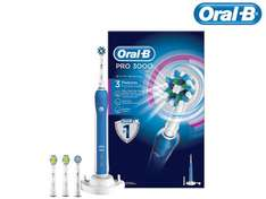 [iBOOD] Oral-B PRO 3000 + 4 Aufsteckbürsten