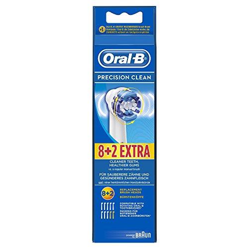 [Amazon Prime Deals] 8+2 Oral B Precision Clean Aufsteckbürsten
