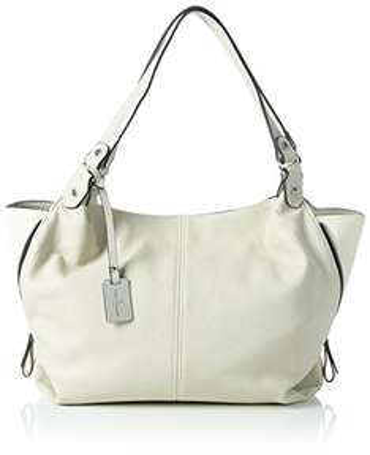 Tom Tailor Shopper Handtasche Mara in Weiß @Amazon