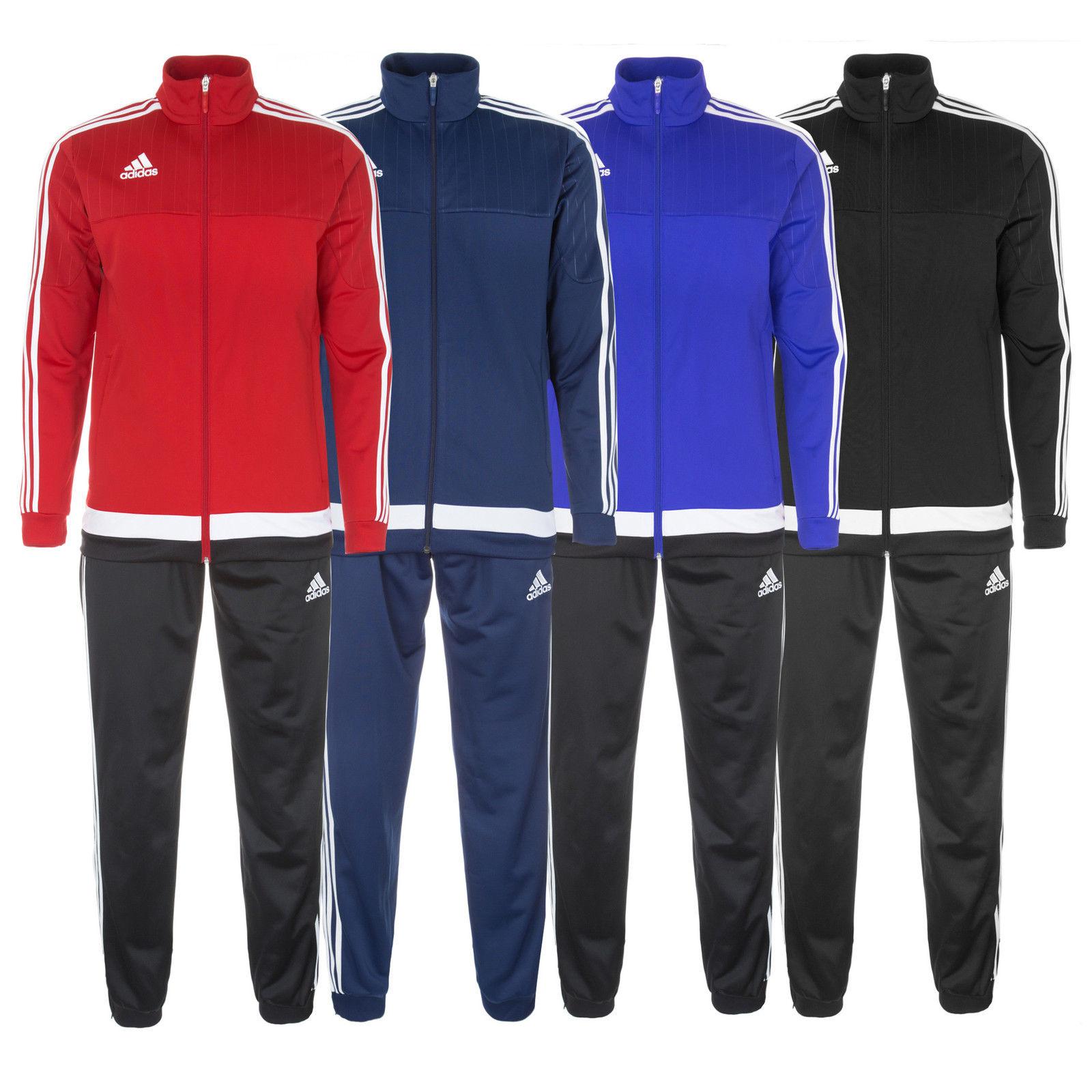 (Ebay-WOW) adidas Performance Tiro 15 Trainingsanzug für Erwachsene und Kinder NEU für 29.95 statt 36,88€