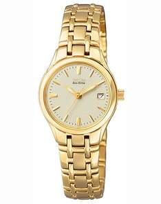 CITIZEN Damen-Armbanduhr EW1262-55P @Amazon