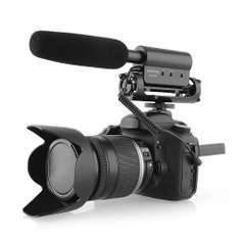 DSLR Richtmikrofon für 25,99€
