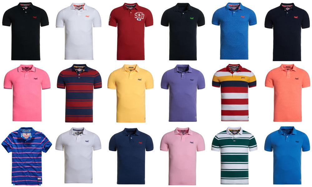[Der Richtige Deal] Superdry Poloshorts Herren über 35 Modelle, alles verfügbar, versandkostenfrei @ebay-Superdry