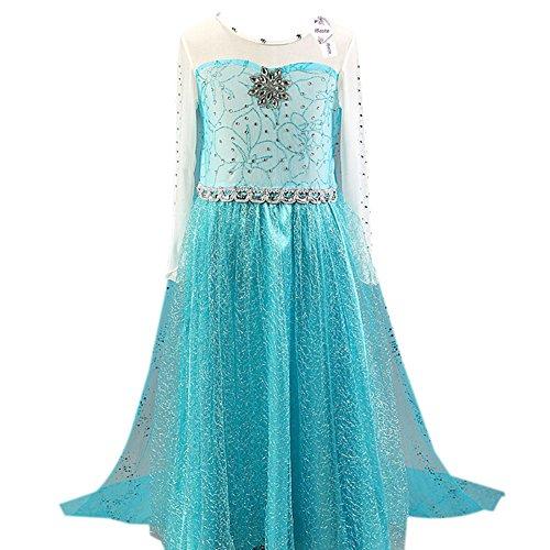 Mädchen Kleid / Kostüm (Gr. 110-150) für 8,99€