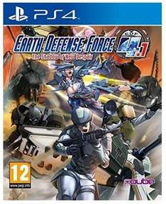 Earth Defense Force 4.1: The Shadow of New Despair (PS4) für 14,25€ bei Base.com