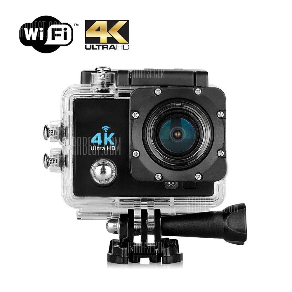 Q6 Actioncam WiFi 4K Ultra HD (16M 2.0 inch OV4689 Sensor) + Zubehör -  [Gearbest]