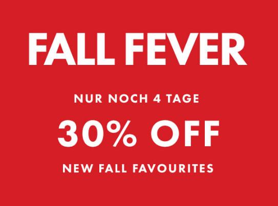 Fall Fever: 30% Rabatt auf Herbstfavouriten bei WE Fashion