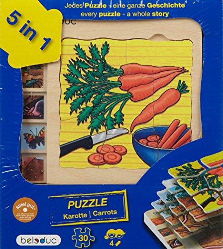 Lagen-Puzzle Entwicklung der Karotte von Beleduc für 7,88€ mit [Amazon Prime] statt ca. 15€