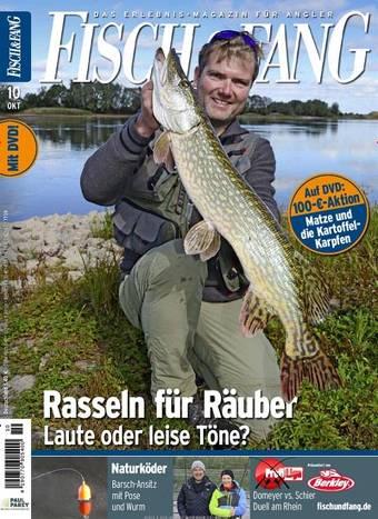 Fisch&Fang, Blinker, Wild und Hund, 6 Monate ab effektiv 5,97€ durch PAYBACKPunkte + Gutscheincode