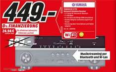 [Media Markt HH + Umgebung] Yamaha RX-V779 7.2-Kanal AV-Receiver (160 W, 4 Ohm, 4K Video Upscaling, AirPlay, WLAN, Bluetooth)