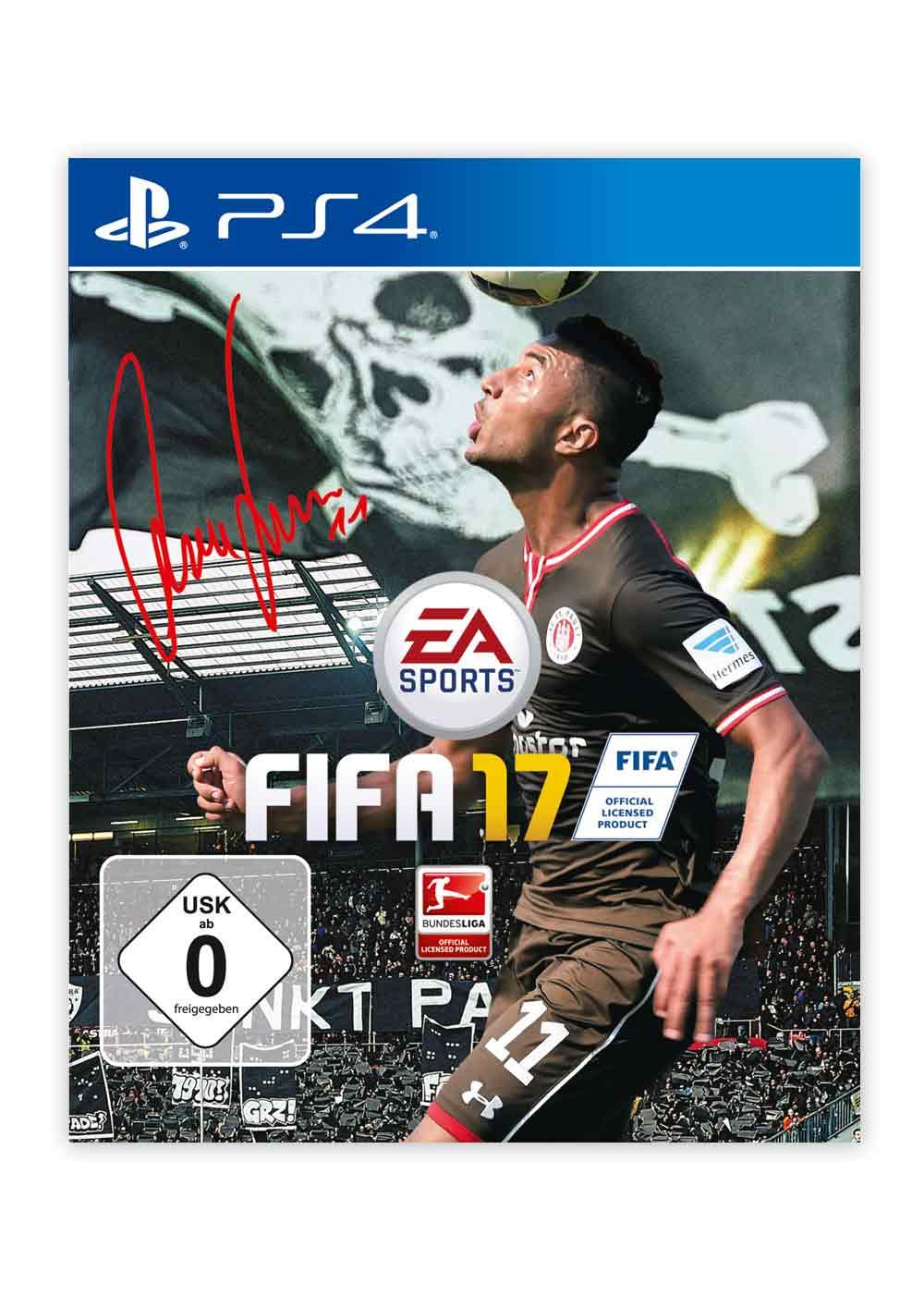 FIFA 17 als signierte Sonderedition FC St. Pauli für PS4 & XBOX ONE