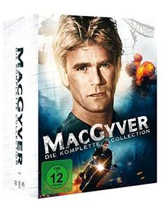 [amazon] MacGyver - Die komplette Collection (38 Discs) für 39,97€
