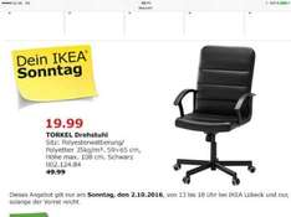 verkaufsoffener Sonntag bei Ikea Lübeck