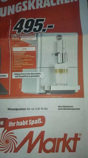 Media Markt Ravensburg Lokal Jura ENA MICRO 9   // 204€ Ersparnis