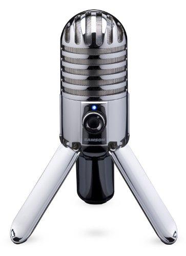 Samson Meteor Mic USB Studio/Podcast Mikrofon #1 Mikrofone  @amazon