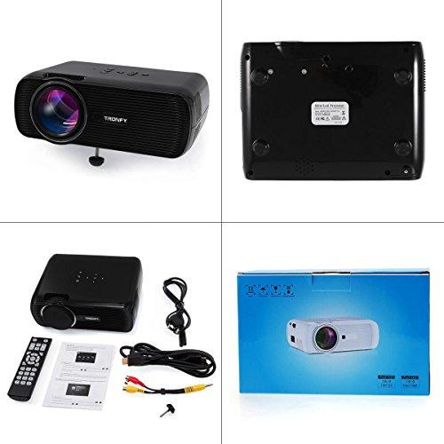 Tronfy Multimedia LCD mini Projector  // Amazon Dritthändler, mit Gutscheincode