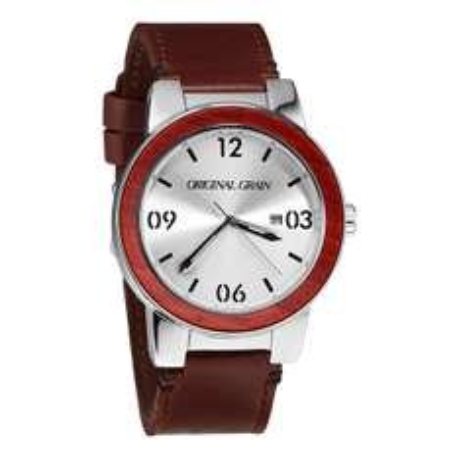 Uhren mit Naturholzapplikation: Original Grain 50% Summer Sale. Verschiedene Modelle.