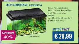 """[lokal """"Einzugsgebiet"""" Koelle-Zoo] od. Bundesweit(?!) - TPG Hornbach Märkte mit Aquaristikabteilung"""
