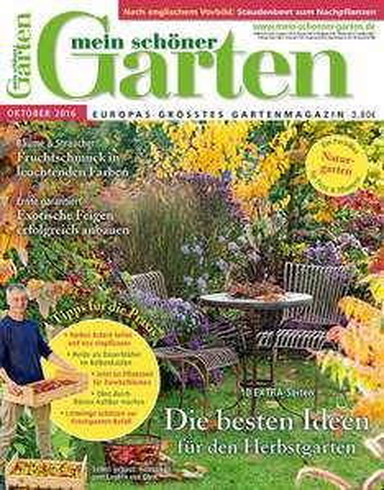 """4 Ausgaben """"Mein schöner Garten"""" für 6,00€"""