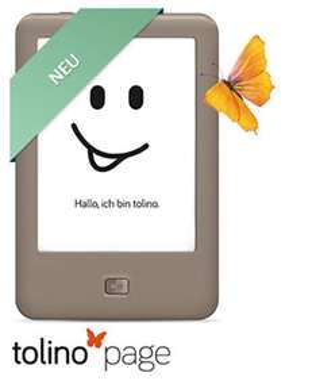 Nur heute: tolino page für 49 € bei Thalia