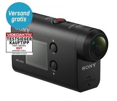 Sony HDR-AS50 Actioncam (3-fach Zoom, Zeiss Tessar Objektiv, SteadyShot, Wi-Fi, BIONZ X, Exmor R CMOS-Sensor, mit 60m Unterwassergehäuse) für 154€ (Redcoon)