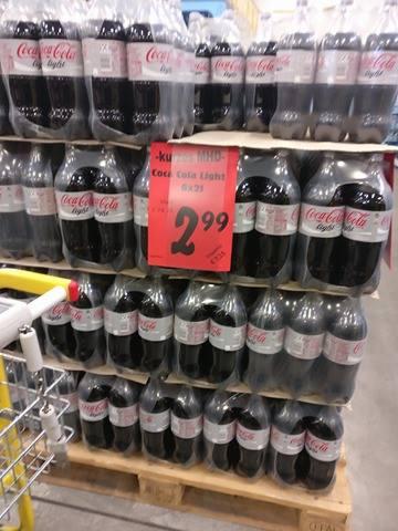 [Lokal Wesseling bei Köln] Cola Cola Light 6 x 2 Liter für 2,99€ (MHD 10/16)