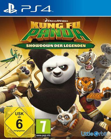 Kung Fu Panda Showdown der Legenden PS4 Spiel für nur 13,99,-