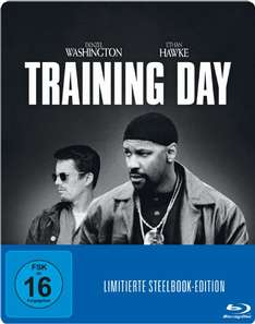 Training Day - Blu-ray Steelbook Edition - 5 Euro inklusive Versand [saturn.de]