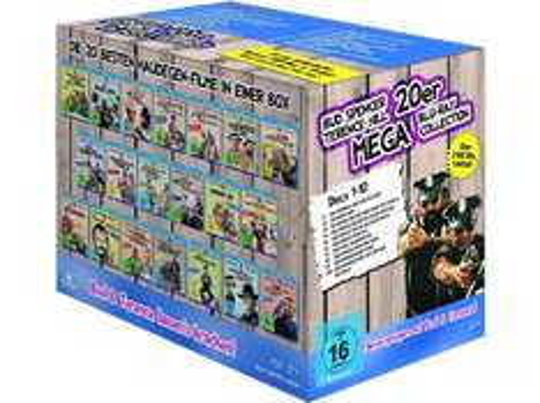 Bud Spencer & Terence Hill - 20er Mega Blu-ray Collection @ Saturn