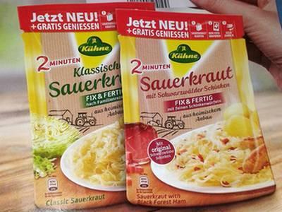 Kühne Sauerkraut Gratis geniessen *Erinnerung*