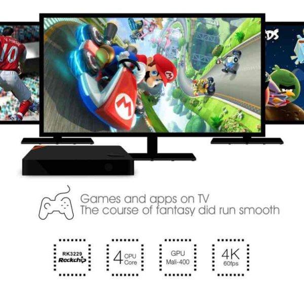 Telmu TV 4K Box [Amazon] auch ohne prime nur heute für 17,99€
