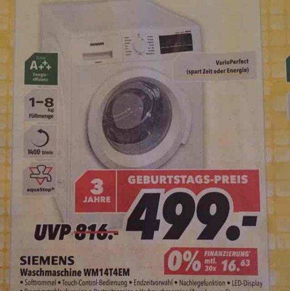 Waschmaschine Siemens WM14T4EM