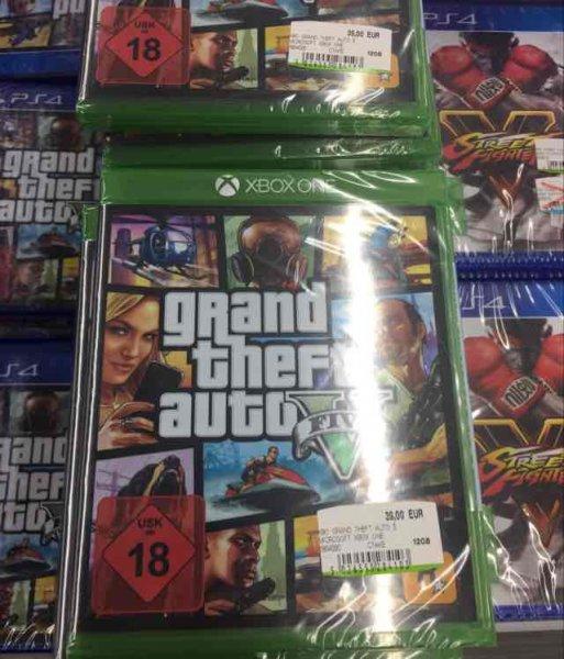 GTA V für  Xbox One bei MM Alexanderplatz