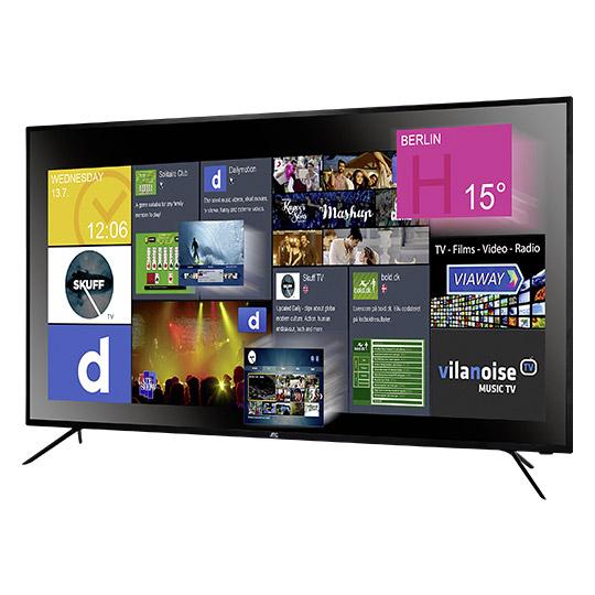 Real Online & Offline,  JTC Ultra HD LED TV 139,7cm (55 Zoll), Genesis 5.5 DVX5, SmartTV, Triple Tuner, Versandkostenfrei bis 9.10