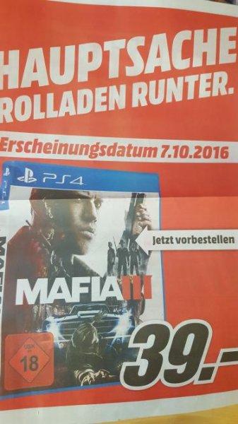 Mafia III Ps4 für 39€ Vorbestellen [lokal MM Wuppertal]