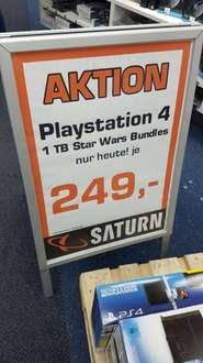 PS4 1TB Star Wars bundle je 249(Saturn München)