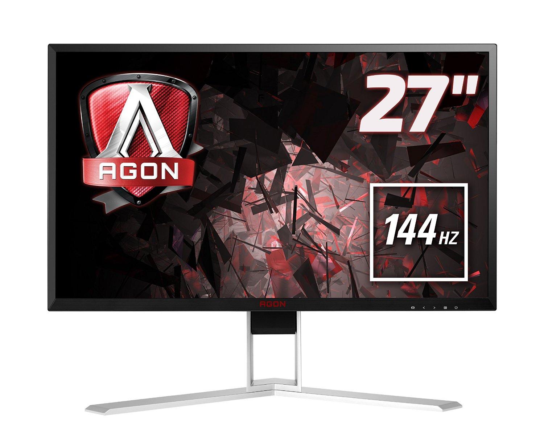AOC AGON AG271QX (27 Zoll) Monitor (Displayport, DVI, HDMI, USB, höhenverstellbar, 1ms, 144hz) für 444.50€ inkl. Versand @ Amazon.co.uk