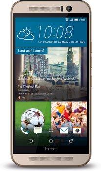 """HTC One M9 """"Camera Edition"""" LTE (5 FHD IPS, Helio X10 Octacore, 2GB RAM, 16GB eMMC, 13MP + 4MP Kamera, Android 6) + Fußball für 289€ [Mediamarkt]"""